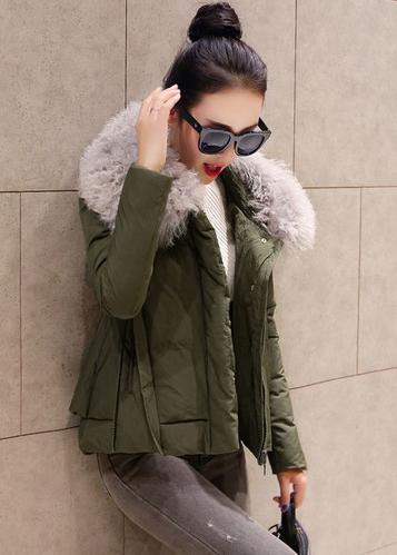 潮人示范冬季羽绒服显瘦搭配!