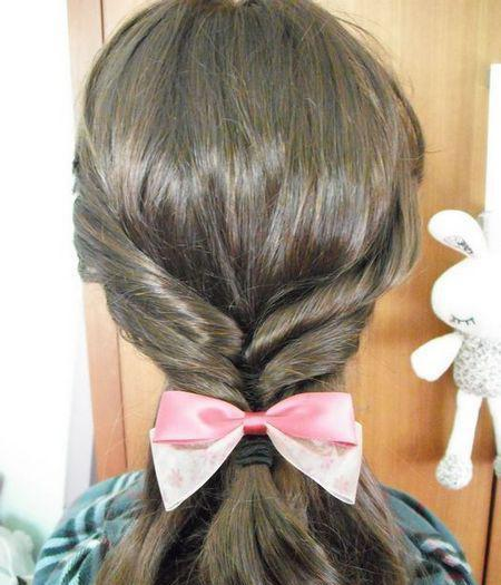 莫莫老师告诉你这样简单扎头发