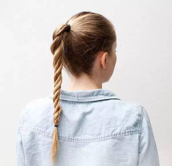 鱼骨、马尾、丸子头、短发辫、侧编发各种惹眼小孩短头发怎么画图片