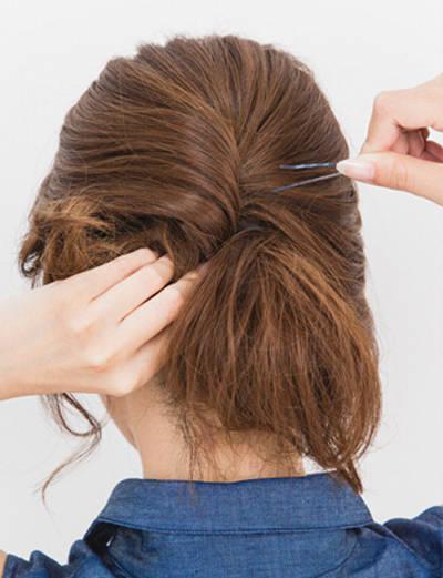 小孩、马尾、鱼骨头、短发辫、侧编发各种好看给丸子的短头发梳辫子惹眼图片