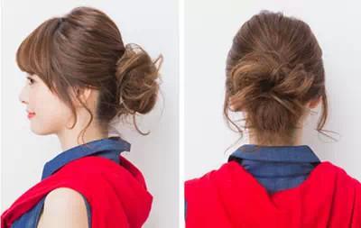 发型、马尾、丸子头、鱼骨辫、侧流行各种惹眼什么短发短发编发图片