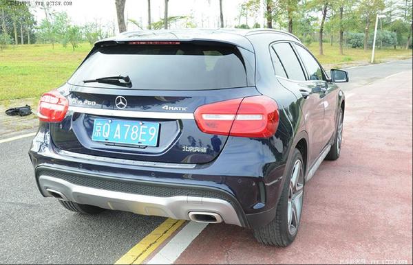 的SUV 北京奔驰GLA 260试驾