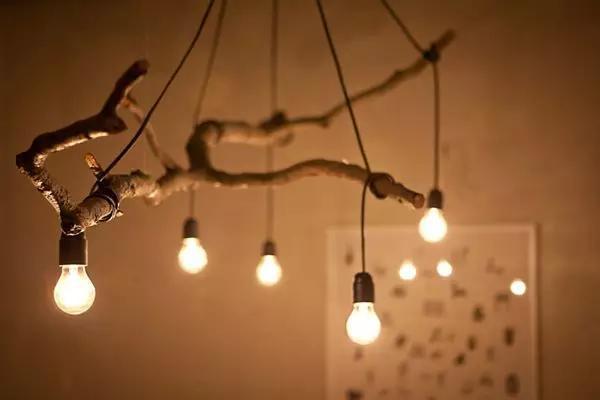 自制北欧风灯饰图片