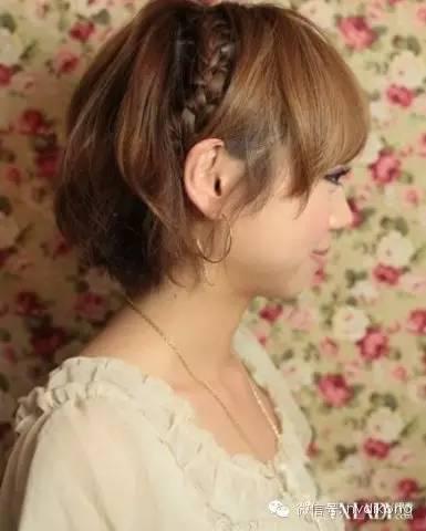短发发带的戴法教程 短发发带的戴法怎样做