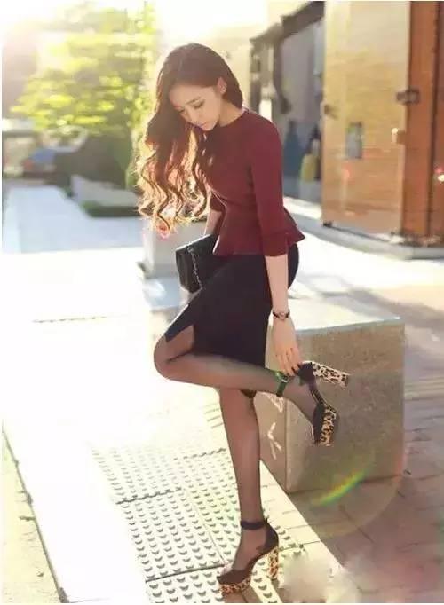 丝袜跟高_女人这样穿丝袜简直丑爆了,连范冰冰也被毁了!_搜狐时尚_搜狐网