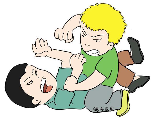 在学校不能打架就对熊孩子无可奈何了吗图片