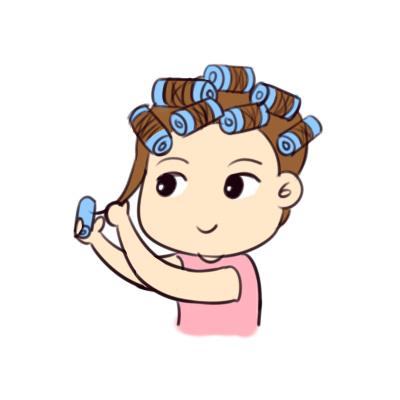 ①生理期,怀孕期不要烫染头发.图片