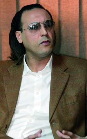 卡扎菲之子遭短暂绑架 数小时后获释