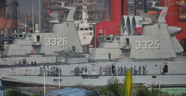 国产气垫船登陆猛照曝光 数十人从中窜出图片