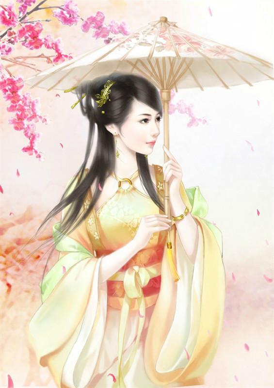 古风美女—— 撑伞女子