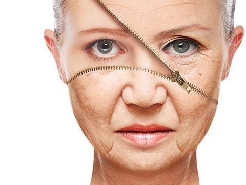 50岁女人抗衰老图片