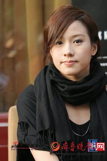 林嘉欣,甜姐,笑容很美。