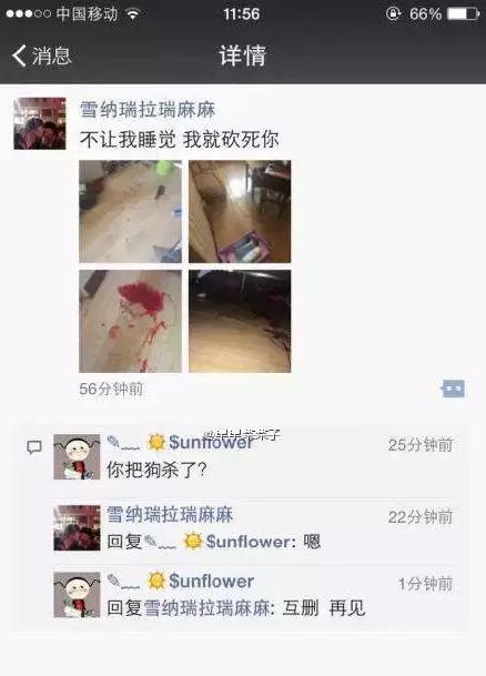长春虐狗事件刷爆朋友圈 狗狗被主人砍断腿(图)