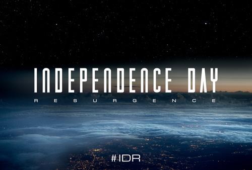 《独立日2》概念海报