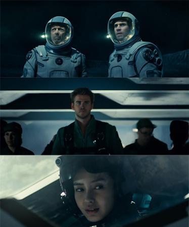 该预告出现了当红帅哥利亚姆-海姆斯沃斯和中国演员Angelababy等面孔