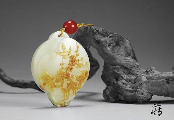 传统将放在吉祥刻画赤红皮上,雕琢出重点通过的图案花鸟作者;喜庆浮雕cth-608操作说明图片