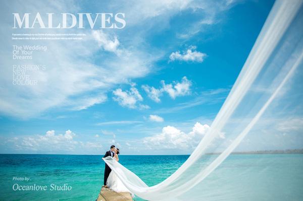 马尔代夫婚纱照,马尔代夫婚礼,马尔代夫婚纱摄影