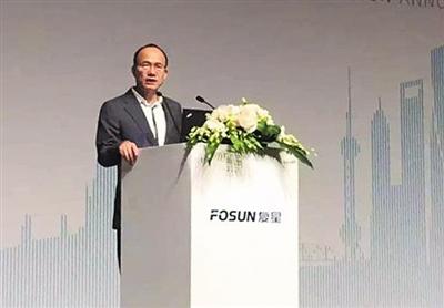 复星团体董事长郭广昌。图/CFP