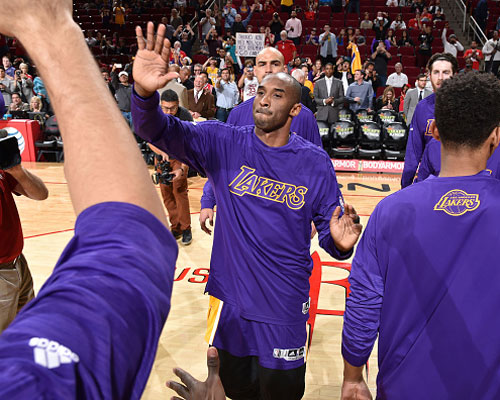 15日NBA:科比父亲谈儿子退役 韦德给哈桑提建议