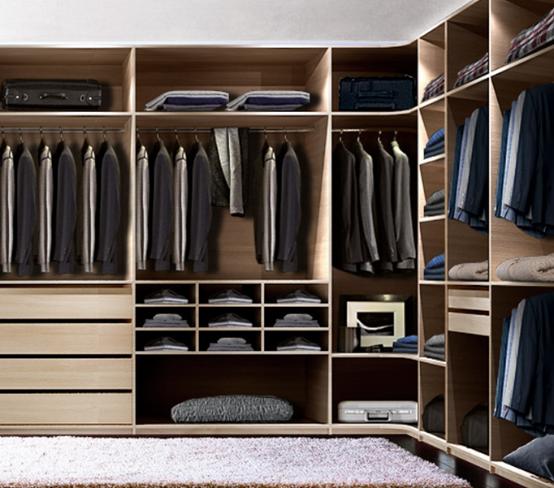 定制衣柜丨卧室衣柜内部布局