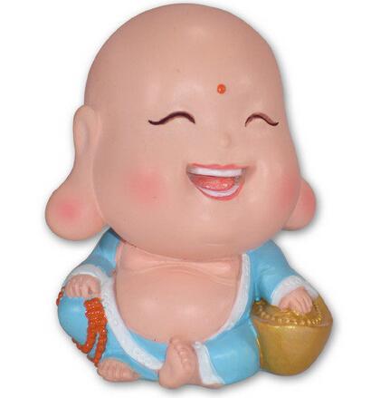 """所以又被称为""""大肚弥勒佛"""".   不同的寓意.比如文殊菩萨他的形象"""