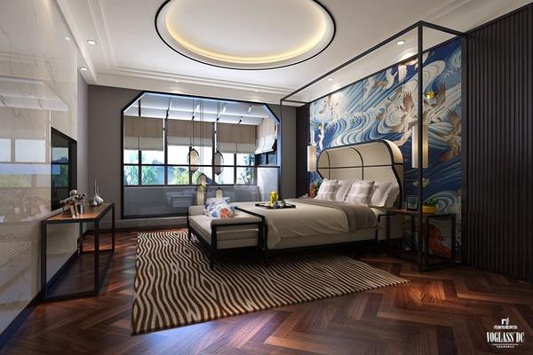 龙湾新中式别墅设计