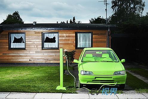 未来十年中国电动汽车市场年增率可达30高清图片