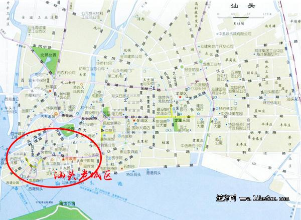 汕头美食地图(手绘版)