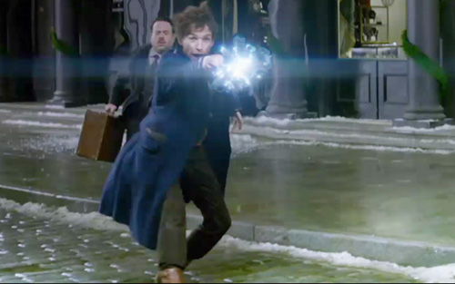 斯卡曼紧急关头使出魔法