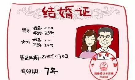 有效期_婚姻7年有效期