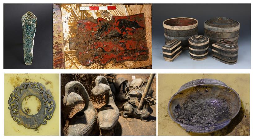 海昏侯墓出土的部分文物