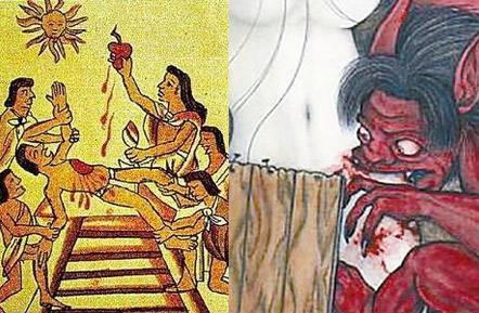 古代美女这种情况会遭宰杀吃掉 手段极残忍(图)