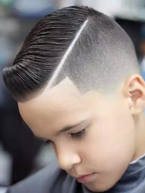欧式儿童发型 帅帅哒图片