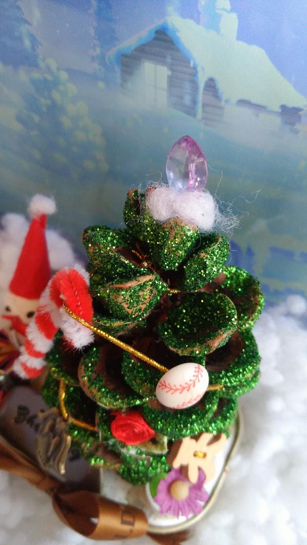 【废物利用手工】罐头盒里的圣诞节