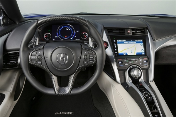 本田最强跑车 讴歌nsx顶配133万高清图片