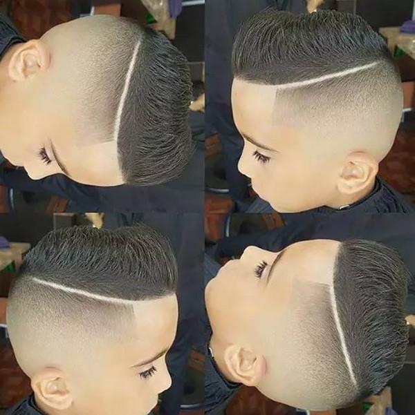 帅气的儿童发型,看完有一种想给孩子换发型的冲动!图片