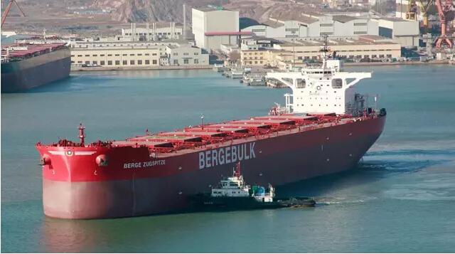 5.3万吨散货船价格_渤船210000吨散货船3号船试航(图)-搜狐滚动