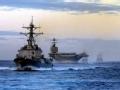 """美军航母编队被法潜艇""""干掉""""一半"""