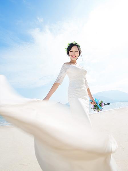 2017年婚纱照的风格都有哪些图片