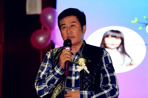 演员林威发言-电影 宝贝大作战 选角 华南区仪式在深启动