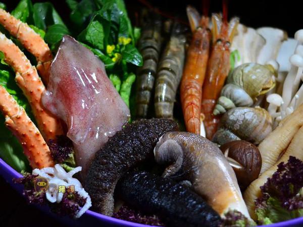 咖喱海鲜火锅_双蛋卡真海鲜火锅,热辣羊城