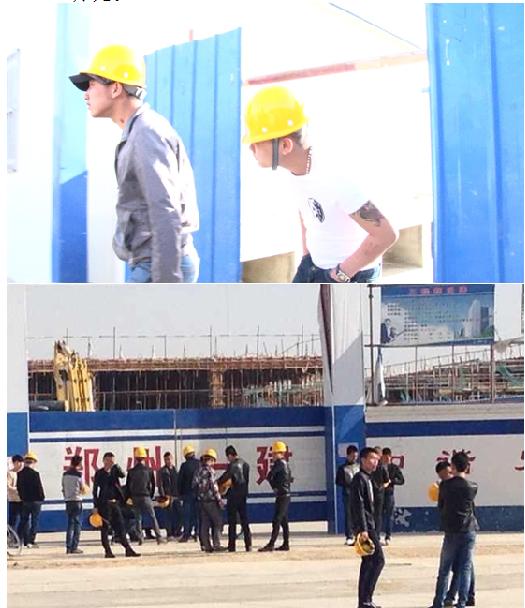 社会青年进入郑州一建施工场-河南郑州一建援疆蒙受损失6000万图片