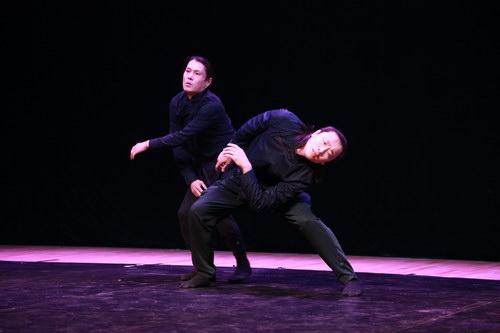 现场表演舞剧舞蹈片段