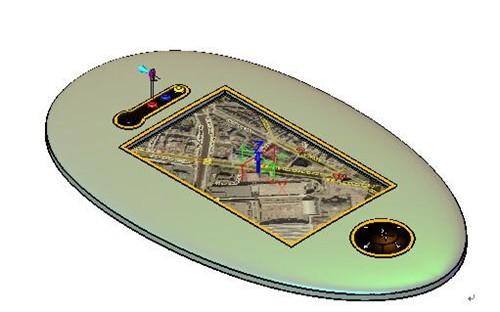 三维CAD实例教程:用中望3Dv实例GPS外壳cad很多将标点划线如何坐中图片