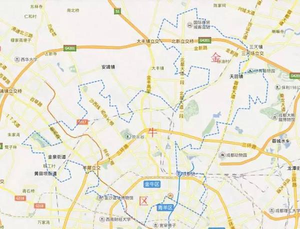 读懂房价,便知成都——成都主城区房价地图一览图片