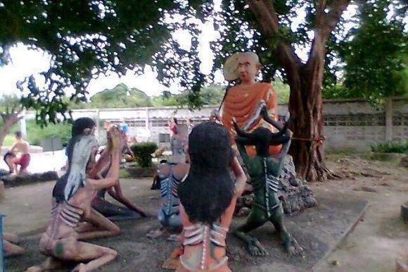 泰国娜娜庙传说图片
