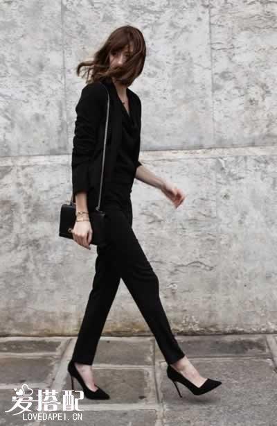 - Quelles chaussures avec une combinaison noire ...