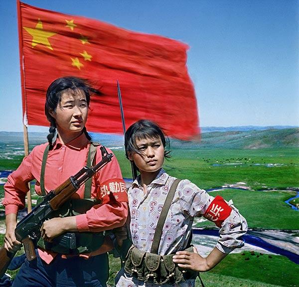 边疆女民兵(内蒙古)1969