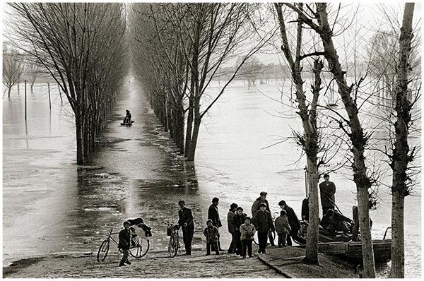 黄河凌汛(山东)1996年