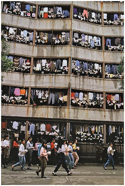 外来女工的宿舍(广东深圳)1985
